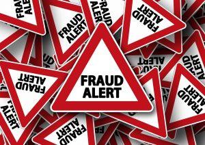 'fraud alert' signs