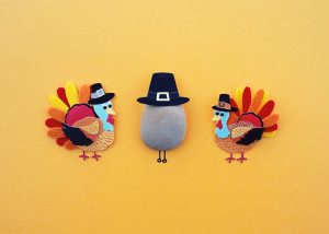 Turkey decorations for Thanksgiving day specials, attractions & events in LA.