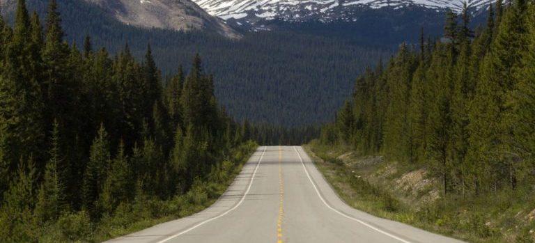 -a long distance road