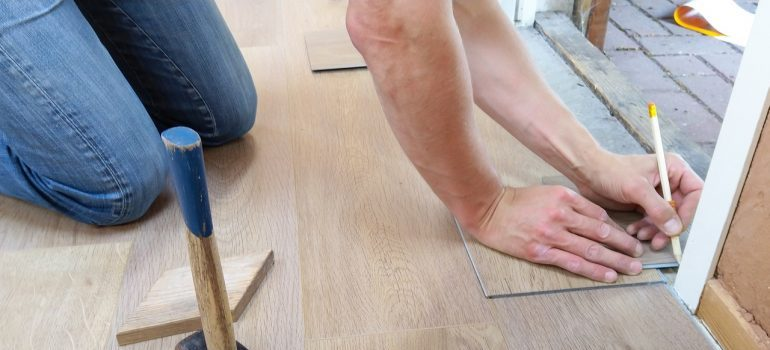 -household repairs after the move