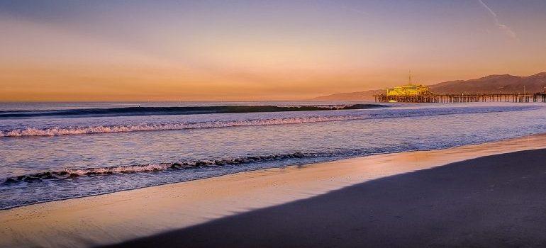 a beach - summer in Los Angeles