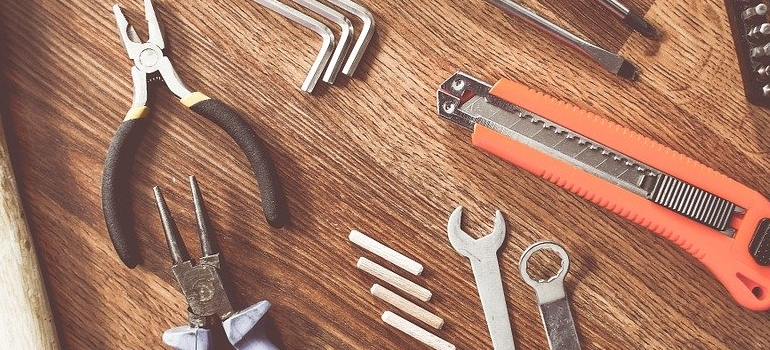 tools you will use when Moving pool table