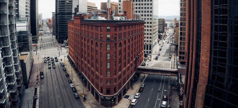 a building in Denver
