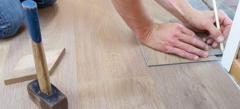 repairing floors