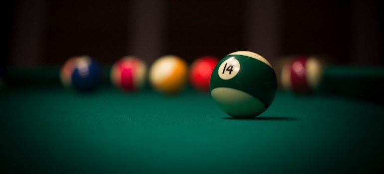 pool table ready for pool table movers Denver CO