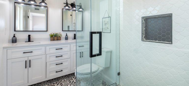 bathroom in a master suite