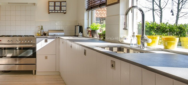 kitchen as part of the homeowner safety checklist