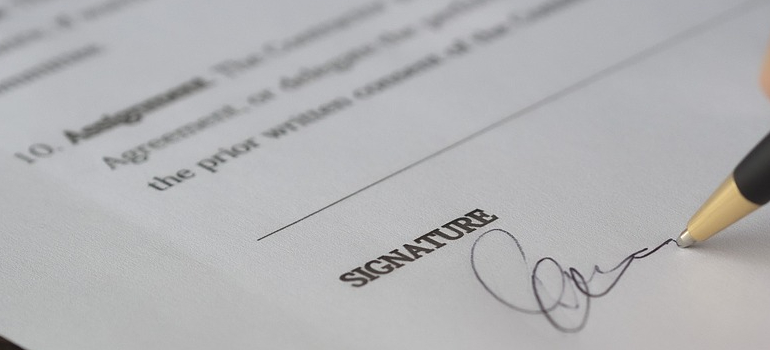 a signed permit as one of the traits of reliable movers in Denver