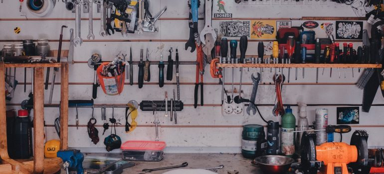 tools-organizing your garage