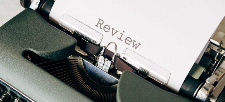 typing machine reviews