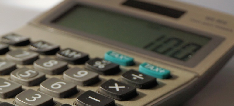a calculator used to calculate binding estimate