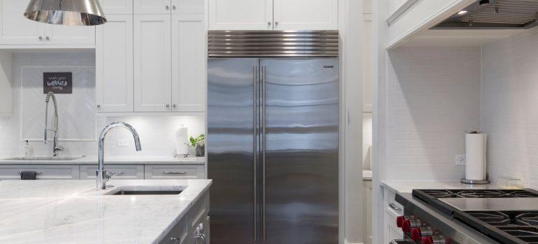prepare refrigerator when packing kitchenware