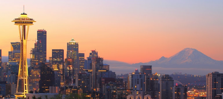 Seattle skyline- packing tips for students