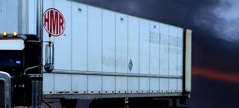 a truck trailer