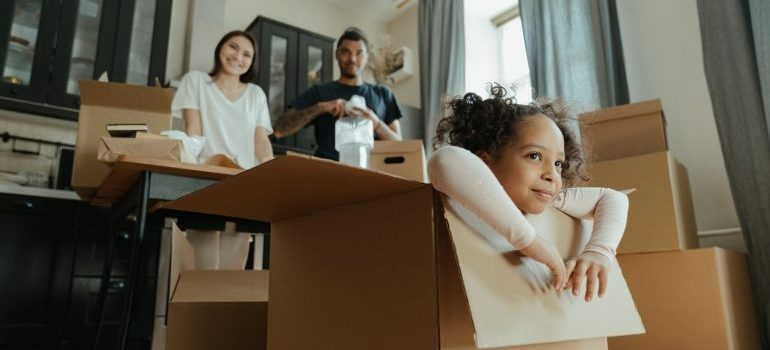 include kids in moving