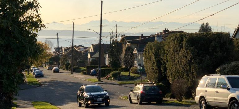 A quiet Seattle neighborhood for families