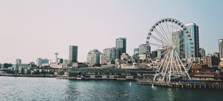 waterfront view of Seattle