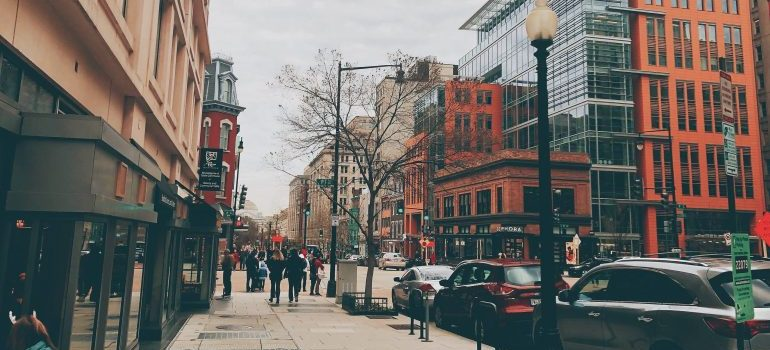 street view of cities in Washington for job seekers