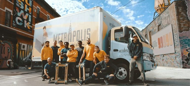 Team of movers - keeping your private information safe during a WA move