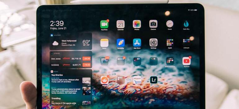 apps on iPad