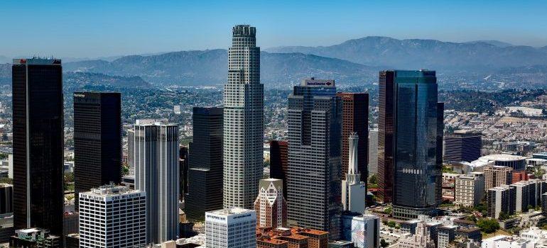 raising your kids in LA - highrise bulidings in LA