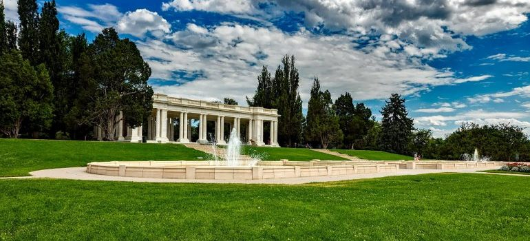 Cheeseman Park in Denver as one of the best places for millennials in Colorado