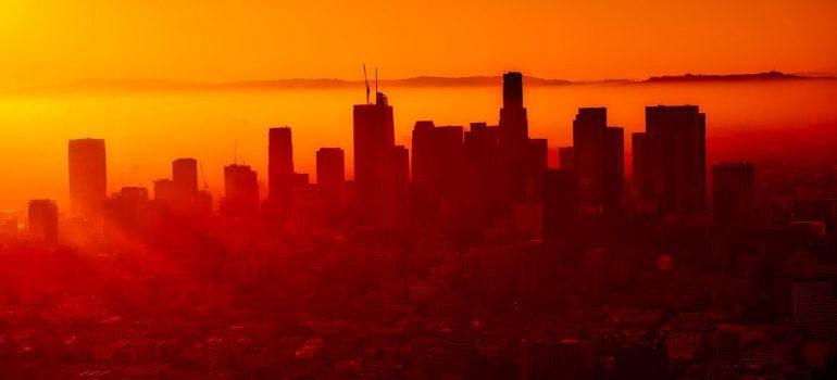 Sunset in LA